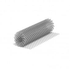 Сетка рабица стальная 1,5x10 м, ячейка 20x20x1,6